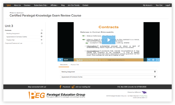 Mobile Responsive Continued Education Learning Platform Individualized Content
